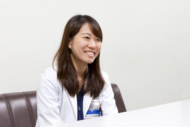 腎内分泌代謝内科 後期研修医(1年目) 小野沢優奈
