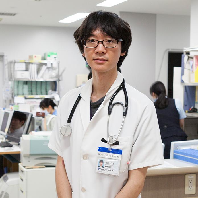 腎内分泌代謝内科 後期研修医(2年目)齊藤仁通