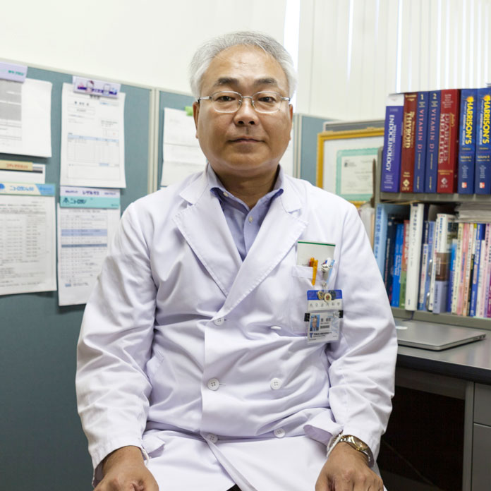 腎内分泌代謝内科 准教授關敏郎