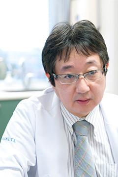 准教授・腎センター長 角田隆俊 蛋白尿から血液透析、合併症まで、糖尿病との連携で、さまざまな病気
