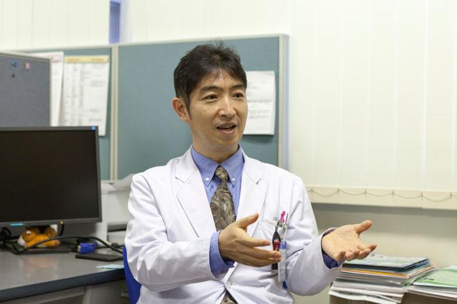 腎内分泌代謝内科 准教授・腎センター長 和田健彦