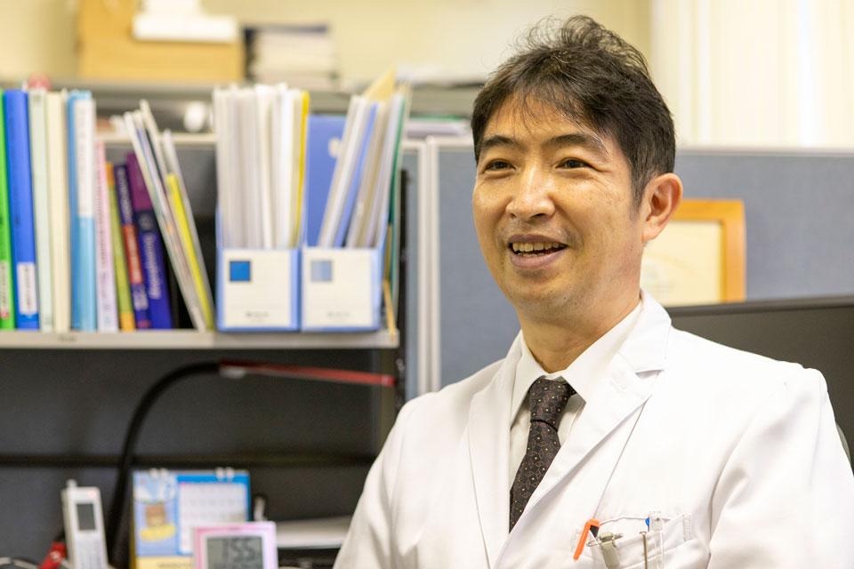 腎内分泌代謝内科 准教授・腎・血液透析センター長 和田健彦